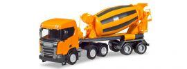 herpa 309004 Scania CR XT ND Betonmischer-Sattelzug Baufahrzeug 1:87 online kaufen