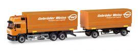 herpa 309134 Steyr F2000 Wechselpritschenhängerzug Gebrüder Weiss LKW-Modell 1:87 online kaufen