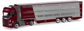 herpa 309264 Scania CS20 HD Viehtransportersattelzug  Nisch LKW-Modell 1:87 online kaufen