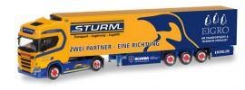 herpa 309325 Scania CR20 HD Kühlkoffersattelzug Sturm Eigro LKW-Modell 1:87 online kaufen