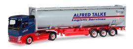 herpa 309363 Volvo FH Flachdach Drucksilo-Containersattelzug Alfred Talke LKW-Modell 1:87 online kaufen
