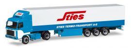 herpa 309455 Scania 143 Kühlkoffersattelzug Sties LKW-Modell 1:87 online kaufen