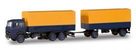 herpa 309578 Iveco Magirus Pritschenhängerzug BASIC LKW-Modell 1:87 online kaufen