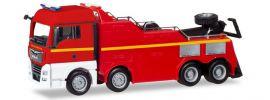 herpa 309608 MAN TGX XLX Euro6c Empl Bergefahrzeug Feuerwehr neutral Blaulichtmodell 1:87 online kaufen