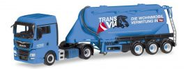 herpa 309622 MAN TGX XLX Euro6c Eutersilosattelzug Silo Melmer Trans Via LKW-Modell 1:87 online kaufen