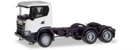 herpa 309745 Scania CG17 6x6 Solozugmaschine weiss LKW-Modell 1:87 online kaufen