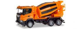 herpa 309783 Scania CG17 6x6 Betonmischer LKW-Modell 1:87 online kaufen