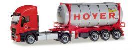 herpa 309813 Iveco Stralis XP Swaptankcontainersattelzug Hoyer LKW-Modell 1:87 online kaufen