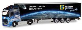 herpa 309875 Volvo FH GL XL Gardinenplanensattelzug  Steinbach Logistik LKW-Modell 1:87 online kaufen