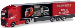 herpa 310024 Volvo FH GL. XL Kühlkoffersattelzug Gesuko der 1.000.000ste Volvo LKW-Modell 1:87 online kaufen