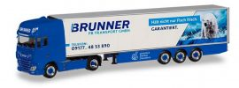 herpa 310055 DAF XF SSC Euro6 Kühlkoffersattelzug Brunner Transport GmbH LKW-Modell 1:87 online kaufen