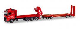 herpa 310086 Volvo FH GL 4a LKW mit Kran und TU4 Gebrüder Markewitsch LKW-Modell 1:87 online kaufen