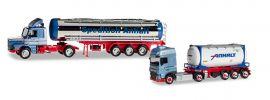 herpa 310369 Scania Hauber mit  DAF Jubiläumsset 50 Jahre Spedition Anhalt Modellset 1:87 online kaufen