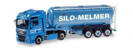 herpa 310574 MAN TGX XXL Euro6c Silosattelzug Silo Melmer Kletterstadl LKW-Modell 1:87 online kaufen