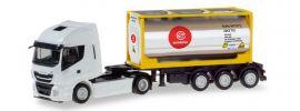 herpa 310604 Iveco Stralis XP Tankcontainersattelzug Eurotainer LKW-Modell 1:87 online kaufen