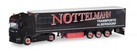 herpa 311038 Scania CR20 HD Gardinenplanensattelzug Nottelmann LKW-Modell 1:87 online kaufen
