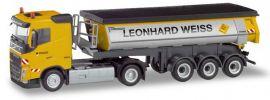 herpa 311045 Volvo FH Thermomuldensattelzug Leonhard Weiss LKW-Modell 1:87 online kaufen