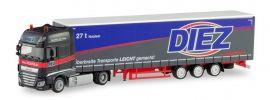 herpa 311274 DAF XF SSC Lowlinersattelzug Diez LKW-Modell 1:87 online kaufen