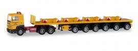 herpa 311434 Renault R360 Ballasttrailersattelzug mit Gewichten Franz Bracht LKW-Modell 1:87 online kaufen