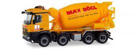herpa 311465 Mercedes-Benz Arocs Betonmischer 4achs Max Bögl LKW-Modell 1:87 online kaufen