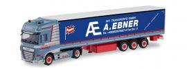 herpa 311502 DAF XF SSC Gardinenplanensattelzug mit Bordwänden Transporte Ebner LKW-Modell 1:87 online kaufen