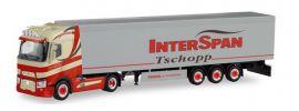 herpa 311618 Renault T Schubbodensattelzug Tschopp Interspan LKW-Modell 1:87 online kaufen