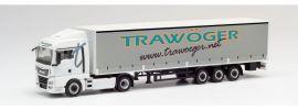 herpa 311779 MAN TGX XLX Euro6c Gardinenplanensattelzug mit Bordwänden Trawöger LKW-Modell 1:87 online kaufen