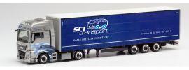 herpa 311816 MAN TGX XXL Lowlinergardinenplanensattelzug SFT Transporte LKW-Modell 1:87 online kaufen