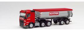 herpa 311885 Volvo FH FD 6x4 Thermomuldensattelzug Kutter LKW-Modell 1:87 online kaufen