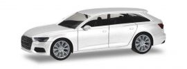 herpa 420303 Audi A6 Avant C8 ibisweiss Automodell 1:87 online kaufen