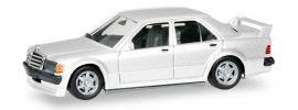 herpa 420310 Mercedes-Benz 190E 2,5 16V weiss Automodell 1:87 online kaufen