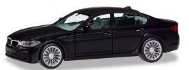 herpa 420372 BMW 5er G30 Limousine schwarz Automodell 1:87 online kaufen