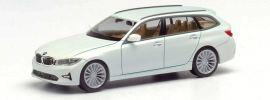 herpa 420839 BMW 3er Touring alpinweiß | Automodell 1:87 online kaufen