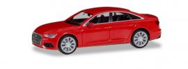 herpa 430630-002 Audi A6 Limousine C8 misanorot metallic Automodell 1:87 online kaufen