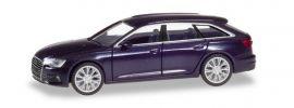 herpa 430647-002 Audi A6 Avant C8  firmamentblau-metallic Automodell 1:87 online kaufen