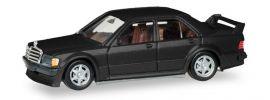 herpa 430654 Mercedes-Benz 190E 2,5 16 schwarzmetallic Automodell 1:87 online kaufen