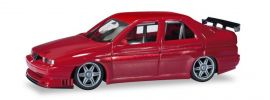herpa 430661 Alfa Romeo 155 V6 ti  Rennsport rotmetallic Automodell 1:87 online kaufen