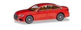 herpa 430678 Audi A6 Limousine C8 feuerrot mit zweifarbigen Felgen Automodell 1:87 online kaufen