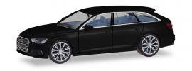 herpa 430685 Audi A6 Avant C8 brilliantschwarz mit zweifarbigen Felgen Automodell 1:87 online kaufen
