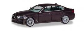 herpa 430692 BMW 5er G30  Limousine Jatoba metallic Automodell 1:87 online kaufen