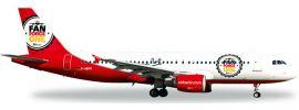 """herpa 526920 A320 airberlin """"Fan Force One"""" WINGS 1:500 online kaufen"""