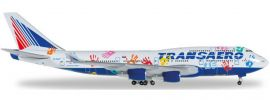 herpa 528818 B747-400 Transaero Flight of Hope | WINGS 1:500 online kaufen