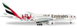 herpa 529235 B777-200LR Emirates Arsenal | WINGS 1:500 online kaufen