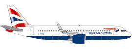 herpa 532808 British Airways Airbus A320 neo | WINGS 1:500 online kaufen
