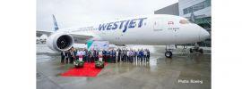 herpa 533256 Boeing 787-9  Dreamliner Westjet Flugzeugmodell 1:500 online kaufen