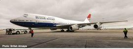 herpa 533508 Boeing 747-400 British Airways  100th Negus Design Flugzeugmodell 1:500 online kaufen