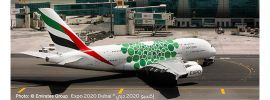 herpa 533522 Airbus A380 Emirates Expo 2020 Dubai Sustainability livery Flugzeugmodell 1:500 online kaufen