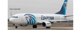 herpa 533546 Boeing 737-800 Egyptair Flugzeugmodell 1:500 online kaufen
