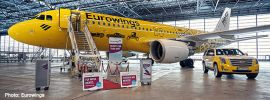 herpa 533560 Airbus A320 Eurowings Hertz 100 Jahre Flugzeugmodell 1:500 online kaufen