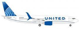 herpa 533744 Boeing 737-800 United Airlines new colors 2019 Flugzeugmodell 1:500 online kaufen